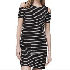 White House Black Market COLD SHOULDER DRESS M